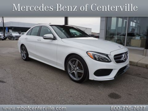 Certified Pre-Owned 2016 Mercedes-Benz C-Class C300 Sport