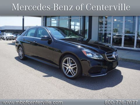 Certified Pre-Owned 2016 Mercedes-Benz E-Class E 400 4MATIC®