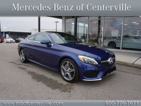 Certified Pre-Owned 2017 Mercedes-Benz C-Class C300 Sport